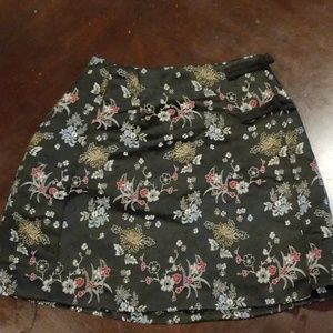 Highwaisted vintage Asian skirt size 3/4